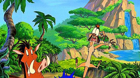 Disneys Abenteuer mit Timon & Pumbaa