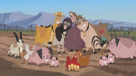 Die Kühe sind los!