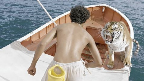 Life of Pi: Schiffbruch mit Tiger auf Sky Cinema Emotion
