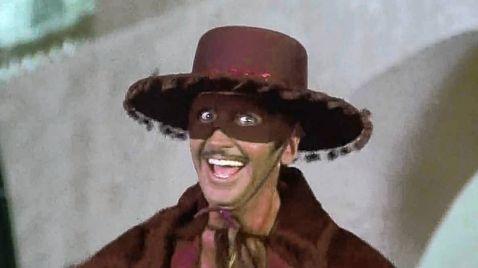 Zorro mit der heißen Klinge