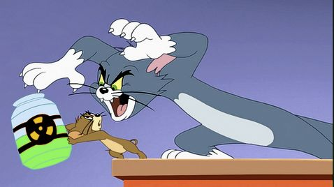Tom & Jerry auf wilder Jagd