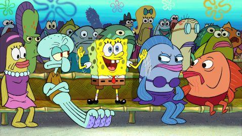 SpongeBob Schwammkopf auf Nicktoons