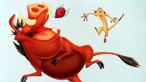 Disneys Abenteuer mit Timon und Pumbaa