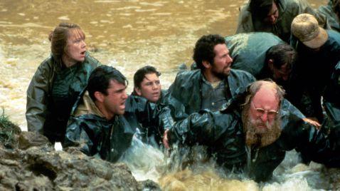 Menschen am Fluss
