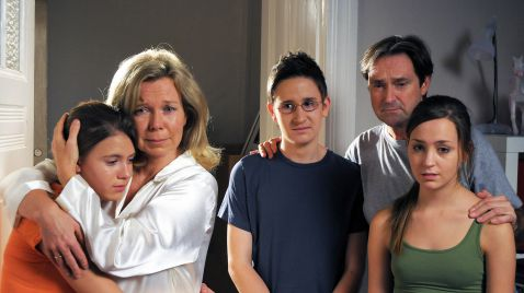 Familie Sonnenfeld - Abschied von Oma