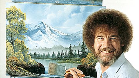 Bob Ross - The Joy of Painting auf ARD alpha