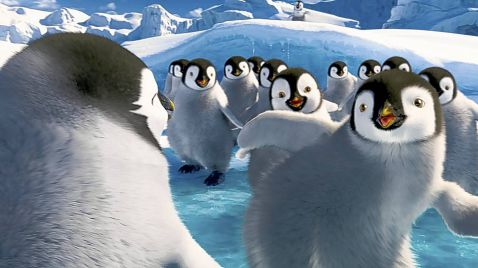 Happy Feet 2 auf Sky Cinema Family HD