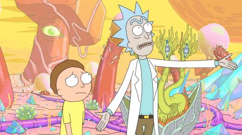 Rick and Morty auf TNT Comedy