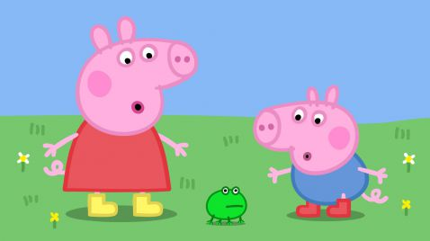 Peppa Pig auf NICK Jr.