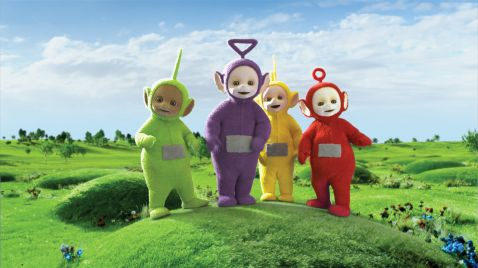 Teletubbies auf Junior